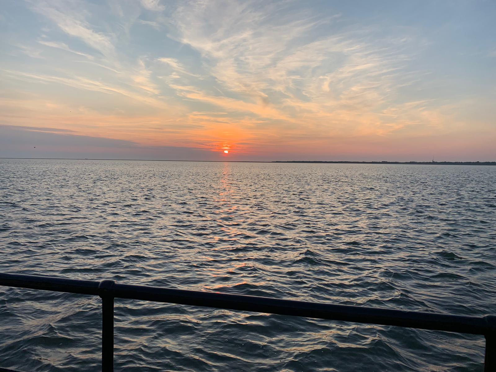 zonsondergang schiermonnikoog